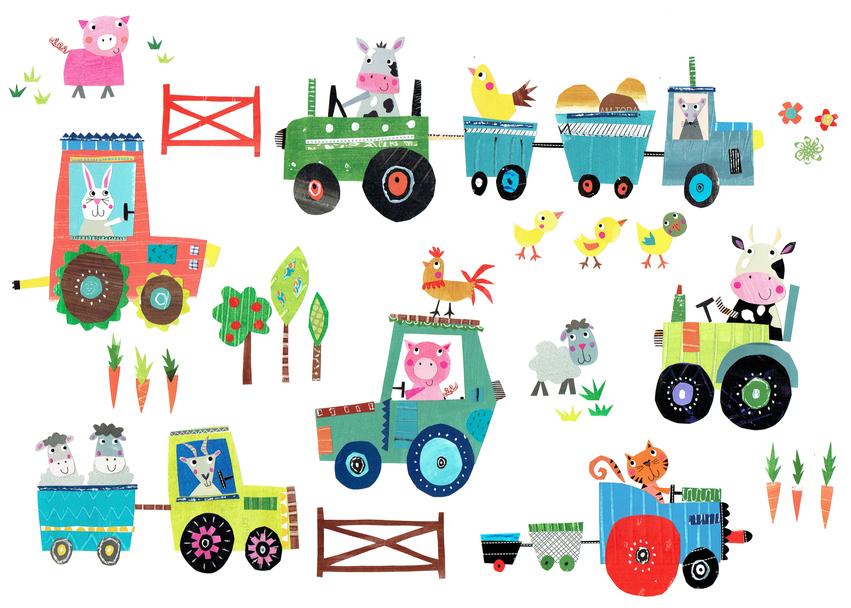 L&K Pope - BRAND NEW - Cute Farm Yard art.jpg