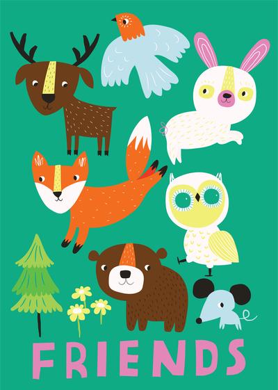 ap-woodland-animals-nature-woods-flowers-juvenile-cute-characters-friendship-01-jpg