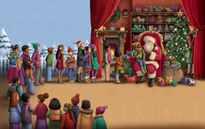 the-children-meet-santa-png