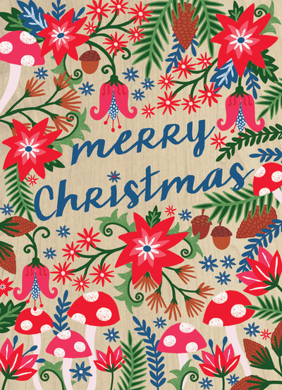 christmas-foliage-toadstools-flowers-jpg