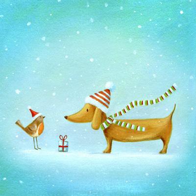 christmas-sausage-dog-robin-snow-present-jpg
