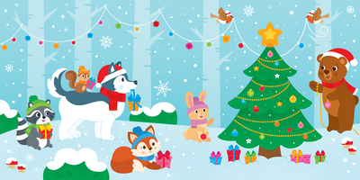 bk90213-christmas-forest-christamstree-animals-jpg
