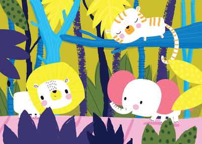 ap-jungle-scene-kids-cute-characters-lion-tiger-elephant-vibrant-01-jpg