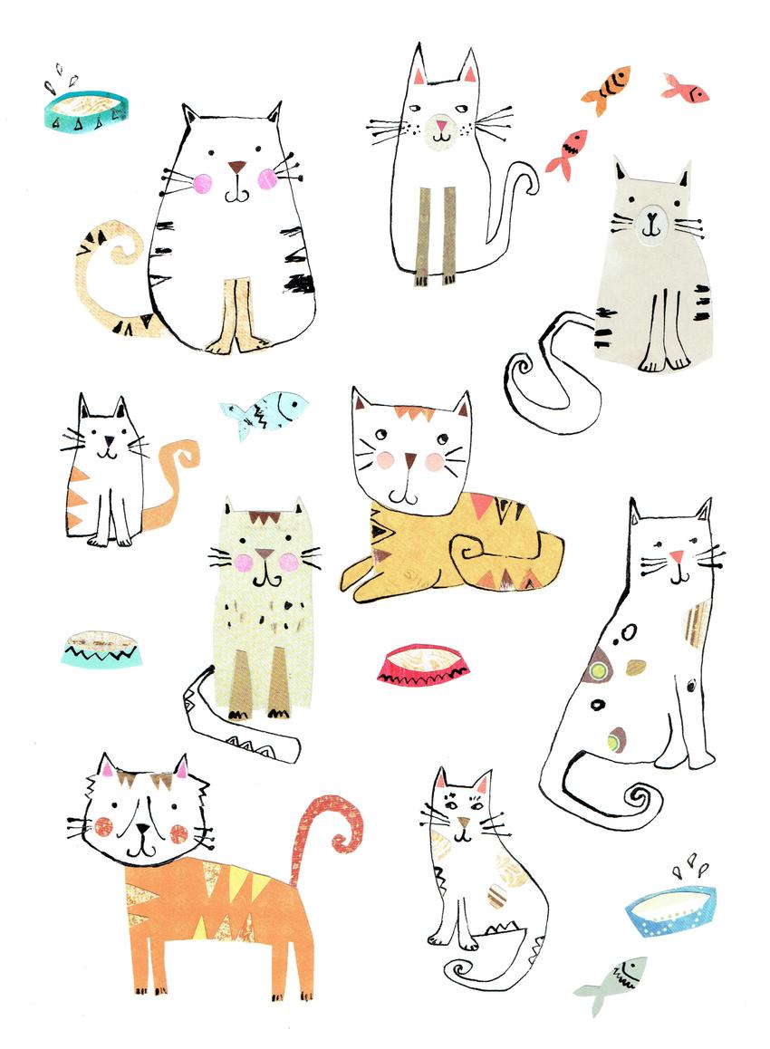 Second Nature - Cats artwork - L&K Pope.jpg