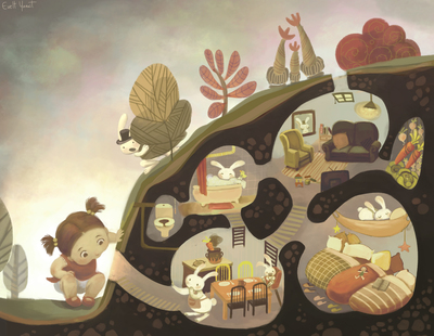 burrows-bunny-rabbit-toddler-girl-garden-animals-house-jpg