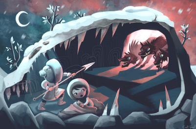 eskimo-kids-wolves-cave-badwolf-adventures-jpg