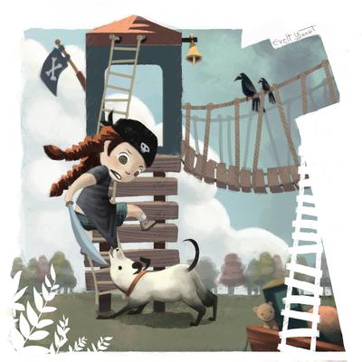 pirategirl-kid-playing-outdoors-bitingdog-littlegirl-pirates-jpg