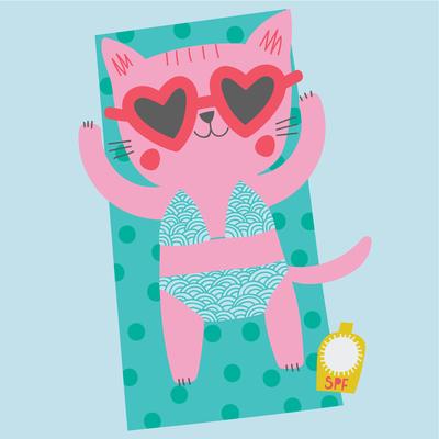 ap-cat-character-childrens-juvenile-holiday-sunbathing-beach-01-jpg