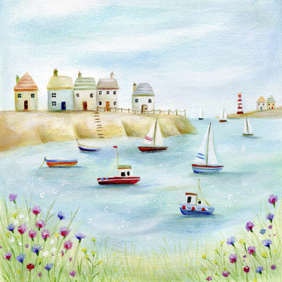 harbour-sailing-boats-lighthouse-sea-flowers-jpg