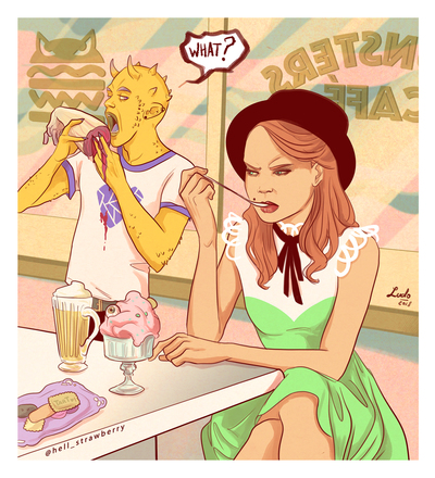 fashion-girl-and-demon-in-a-diner-jpg