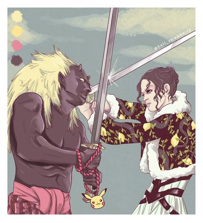 sword-fights-woamn-against-demon-jpg
