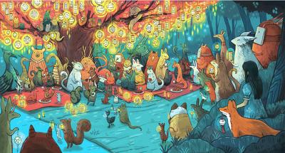 spirits-festival-night-lights-lantern-festival-girl-kids-animals-jpg