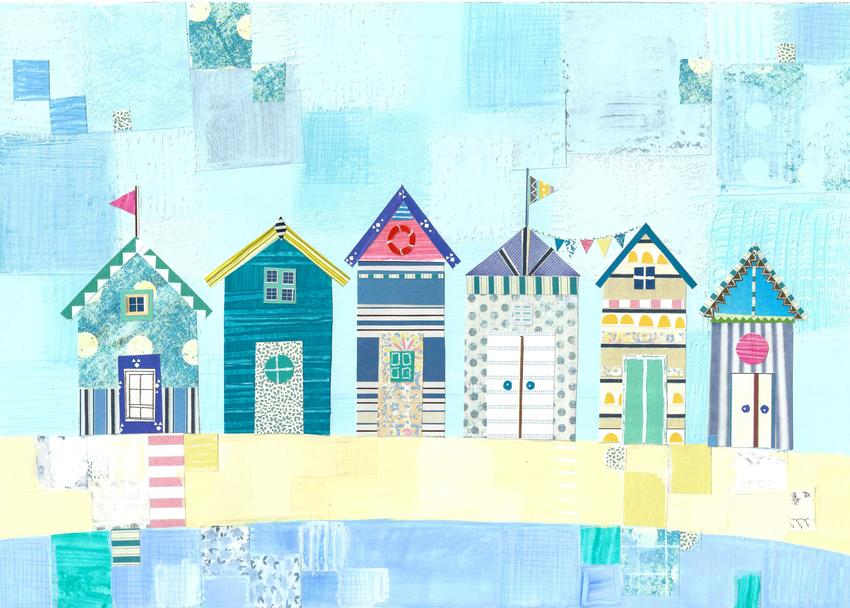 Liz and Kate - Beach Huts on blue.jpg