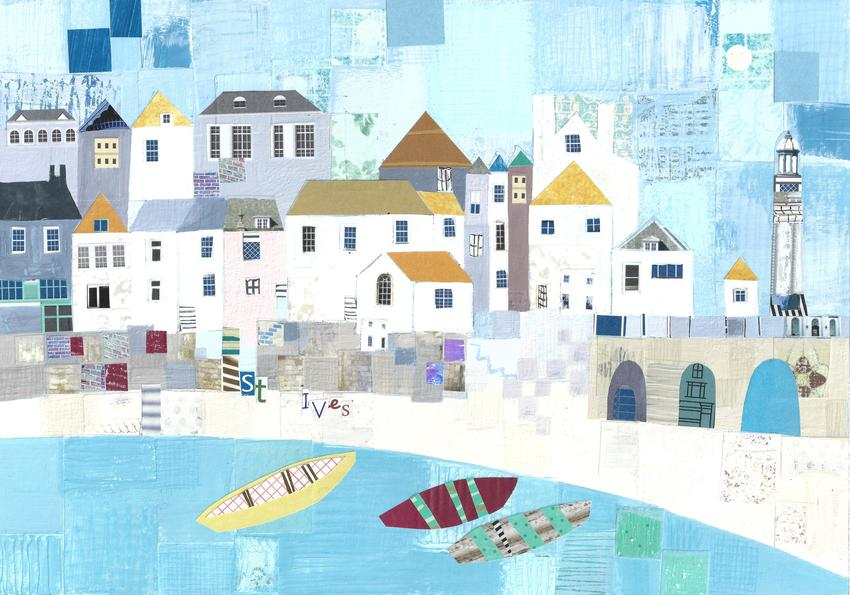 Liz and Kate -  St.Ives art beack scene.jpg