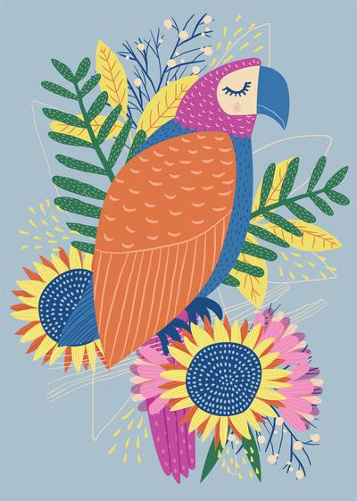 ap-fiesta-parrot-bird-flowers-tropical-bright-decorative-01-jpg