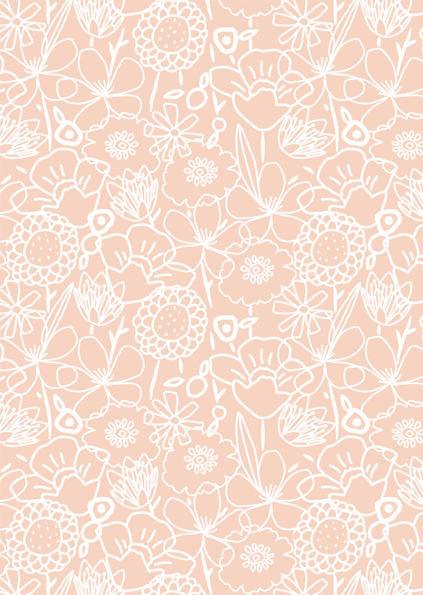 AP_White_Linear Flower_Floral_Doodle_Pink_Pretty_Feminine_Decorative_Pattern-01.jpg