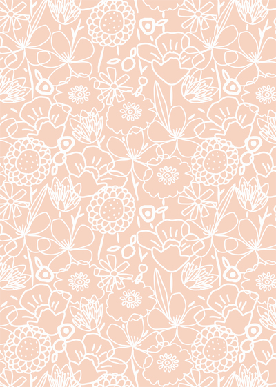 ap-white-linear-flower-floral-doodle-pink-pretty-feminine-decorative-pattern-01-jpg