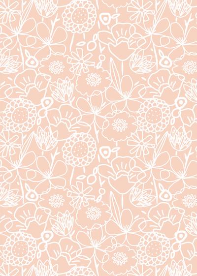 ap-white-linear-flower-floral-doodle-pink-pretty-feminine-decorative-pattern-01-jpg
