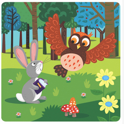 rabbit-and-owl-in-forest-jpg