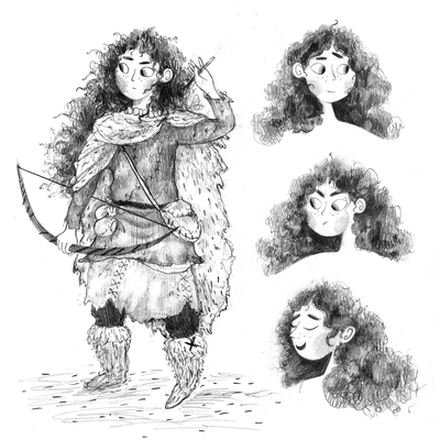 bow-girl-tough-character-blackandwhite-erinbrown-jpg