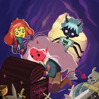devil-girl-and-friends-finding-treasure-jpg