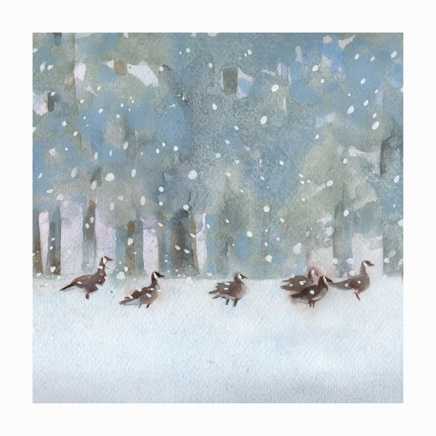 RAS_Geese Forest Snow.jpg