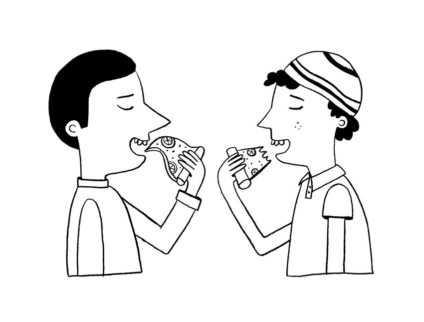 Sarah Hoyle_Boys Eating Pizza.jpg