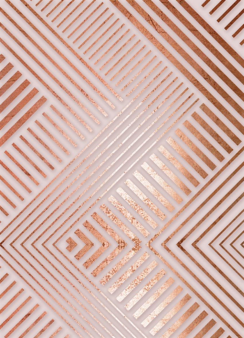 LSK Gingerbread Frappe copper foil_geometric.jpg