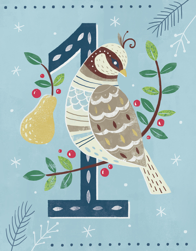 claire-mcelfatrick-partridge-in-a-pear-tree-12-days-of-christmas-carol-jpg