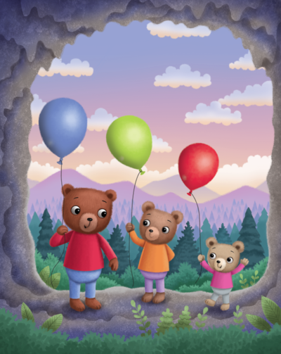 various-bears-with-balloons-png