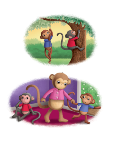 various-monkeys-png
