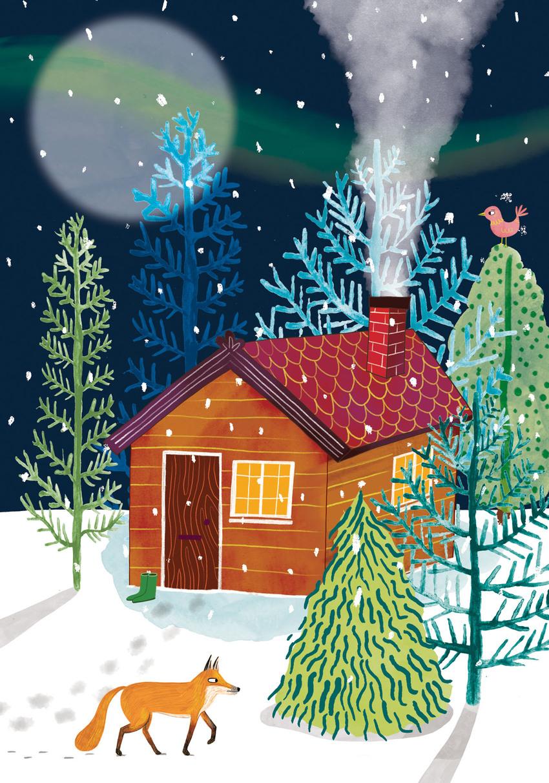 Sarah Hoyle_Christmas Snow Fox.jpg