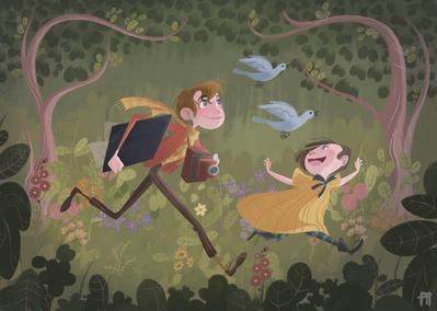 boy-girl-children-forest-flowers-jpg