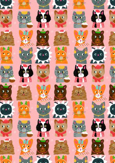 lizalewischristmascatspattern-jpg