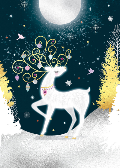 christmas-reindeer-moon-starry-night-stars-forest-snow-sparkle-glitter-gold-foil-jpg-1