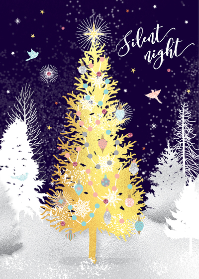 christmas-tree-forest-moon-starry-night-stars-snow-sparkle-glitter-gold-foil-jpg-1