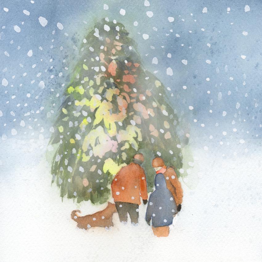 family snow christmas tree.jpg