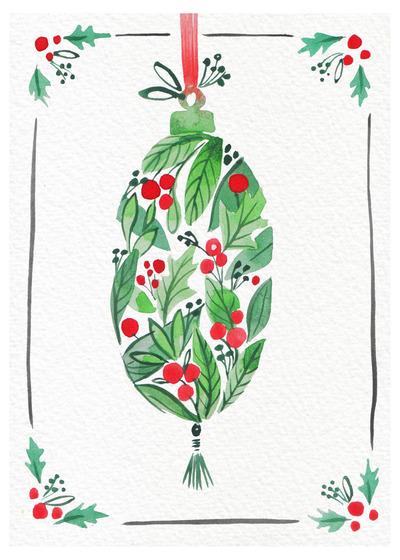 green-red-bauble-handpainted-watercolour-copy-jpg