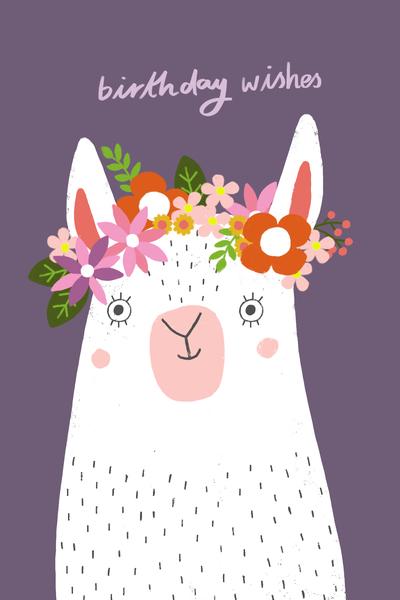 ap-flower-wreath-llama-birthday-wishes-jpg