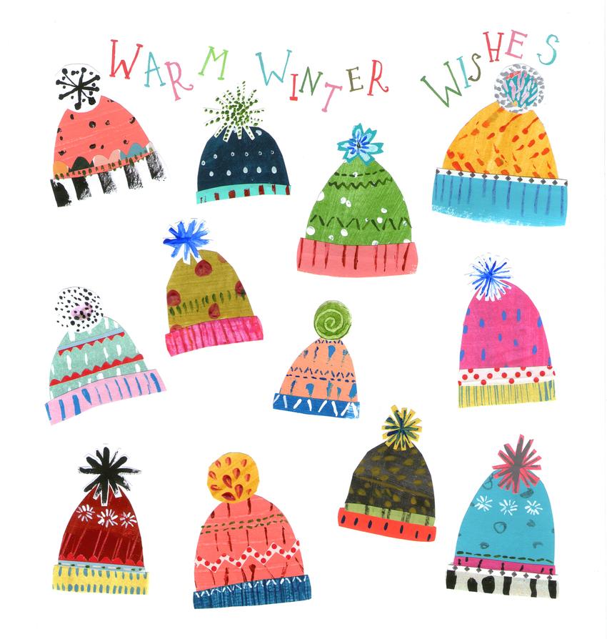 L&K Pope - Brand Xmas New Winter Hats - Rainbow Brite.jpg