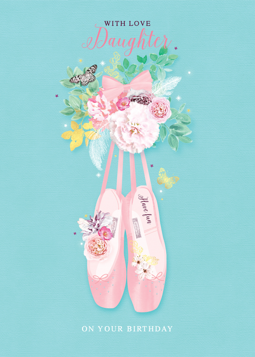 female birthday daughter niece floral ballet shoes with flowers.jpg