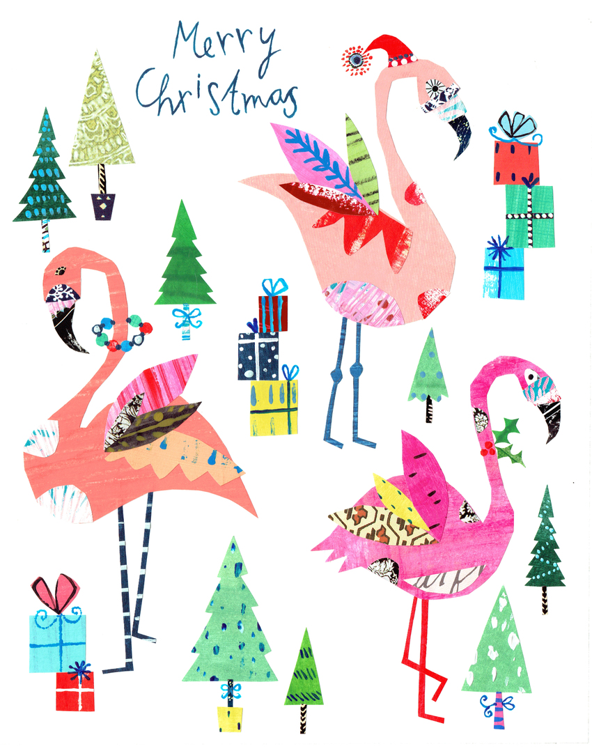 L&K Pope - Brand New Xmas Flamingos - Rainbow Brite.jpg