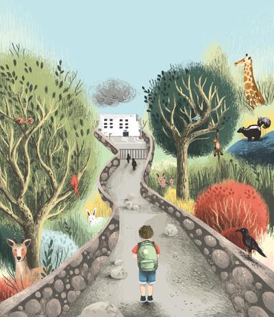 boy-school-animals-road-forest-jpg