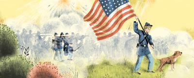 soldier-civil-war-dog-flag-battlefield-jpg
