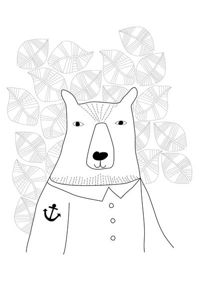 animals-bear-with-anchor-seaman-seabird-leaves-pattern-jpg