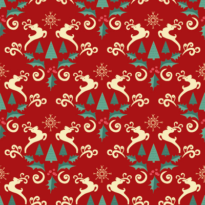 pattern-christmas-modern-evergreen-mandala-style-deer-with-fir-trees-arabesques-ilex-and-snowflakes-red-jpg