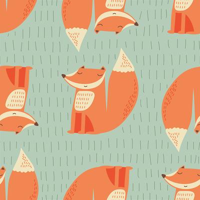pattern-fox-forest-green-jpg