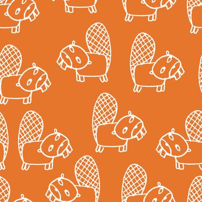 pattern-lumberjack-beaver-outlines-white-on-orange-jpg