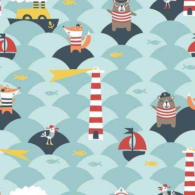 pattern-ahoy-lighthouse-waves-steamship-seabird-pirate-fox-sailor-seagull-jpg