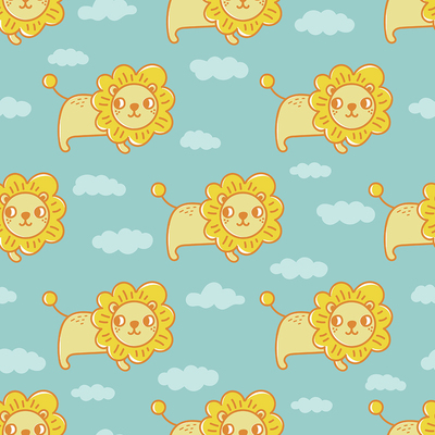 pattern-baby-animals-lion-with-clouds-jpg
